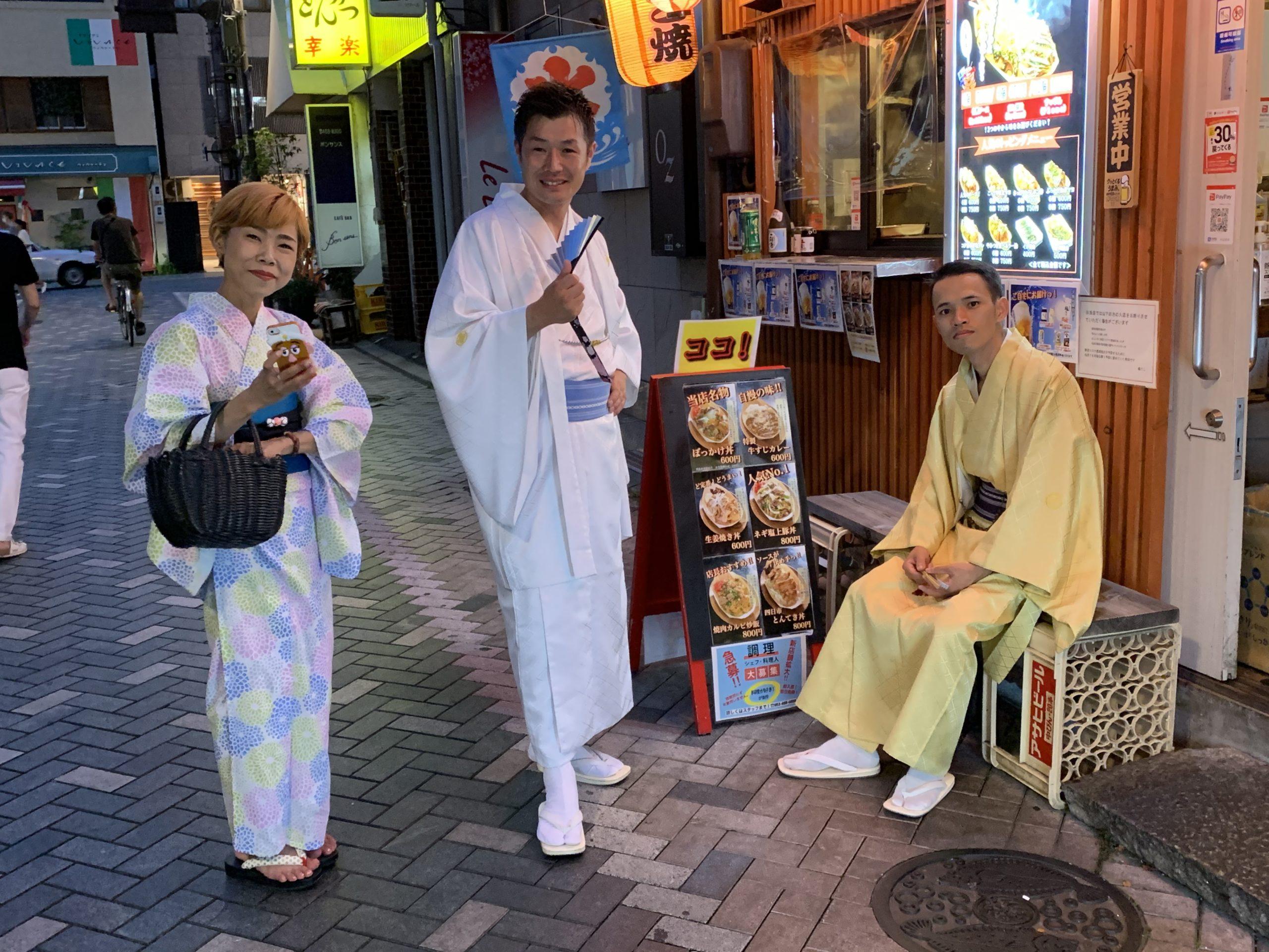外国人の私が日本文化を体験