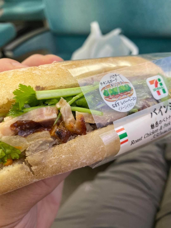 あのベトナム風サンドイッチがセブンイレブンに登場